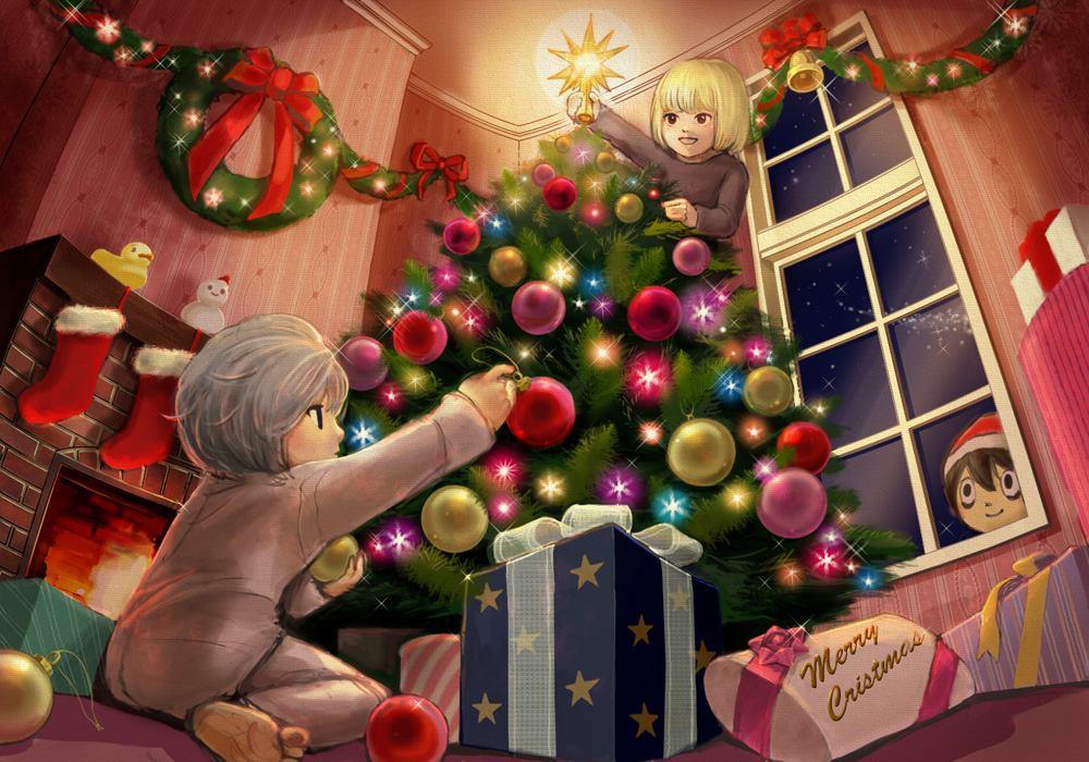 Anime Weihnachten Bilder.Weihnachten At Wammy S Death Note Anime Fan Art 36197109 Fanpop
