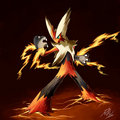 Mega Blaziken - death-the-kid photo