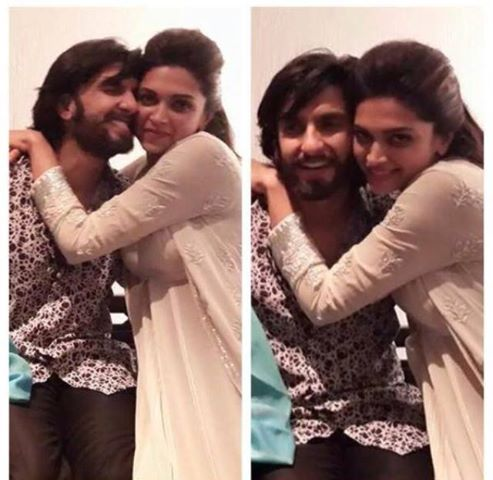 Deepika Padukone wallpaper possibly containing a portrait called with ranveer