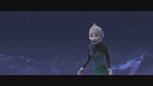Frozen music video screencaps