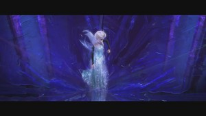 Frozen music video screencaps