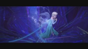Frozen muziek video screencaps