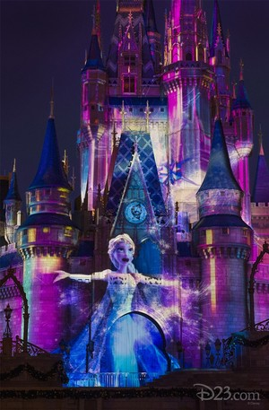 《冰雪奇缘》 - Elsa