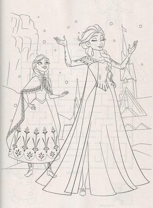 Official アナと雪の女王 Illustration