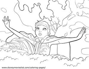 La Reine des Neiges Coloring Pages