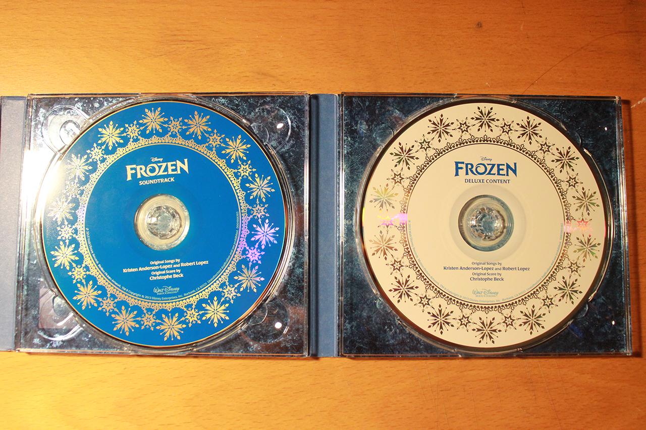 Frozen Soundtrack Deluxe Edition