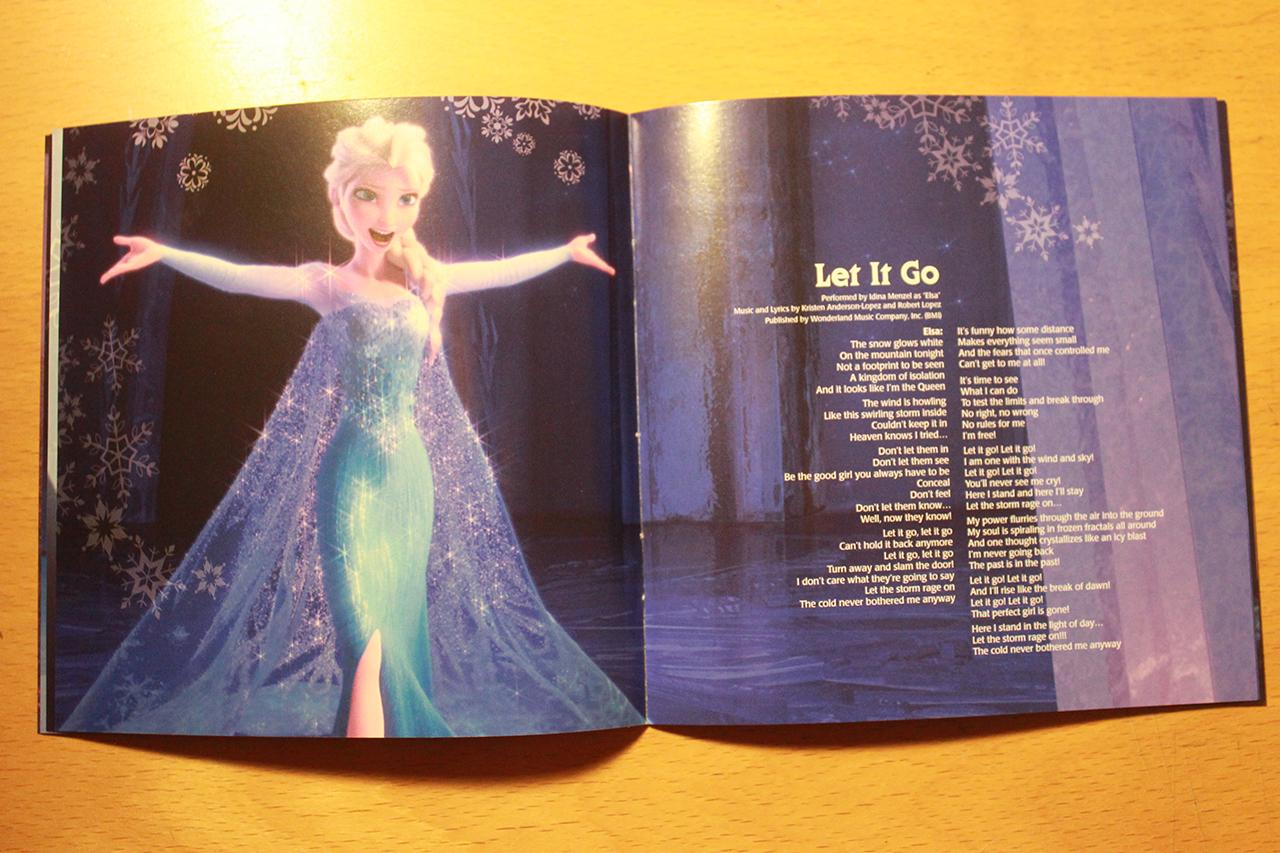 frozen images frozen soundtrack deluxe edition booklet hd wallpaper