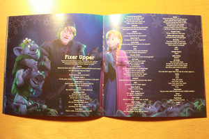 La Reine des Neiges Soundtrack Deluxe Edition booklet