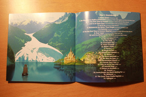 アナと雪の女王 Soundtrack Deluxe Edition booklet
