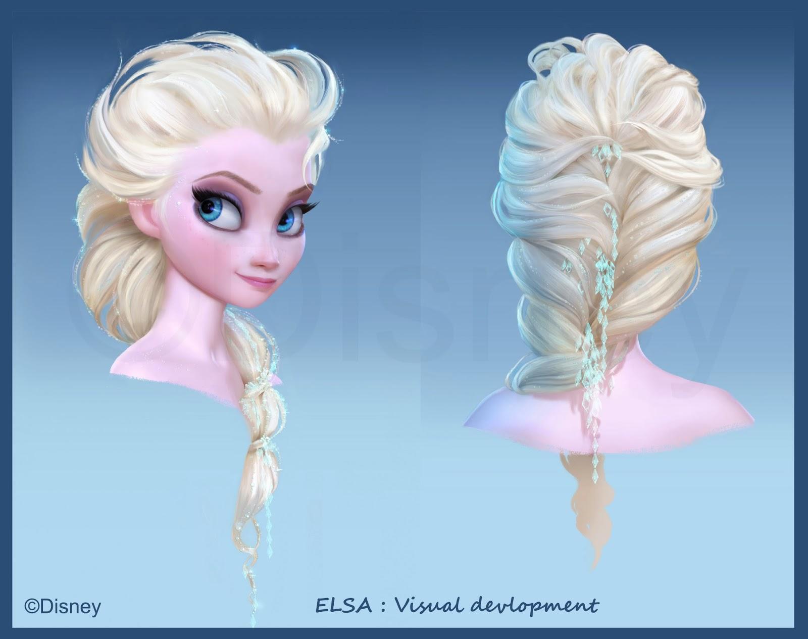 Прическа принцессы эльзы из холодного сердца