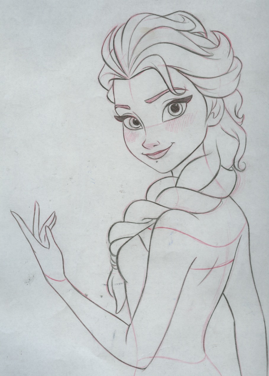 Disney drawings tumblr frozen images for How to draw tumblr drawings