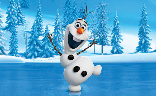 Frozen wallpaper titled Olaf