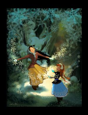 アナと雪の女王 Concept Art