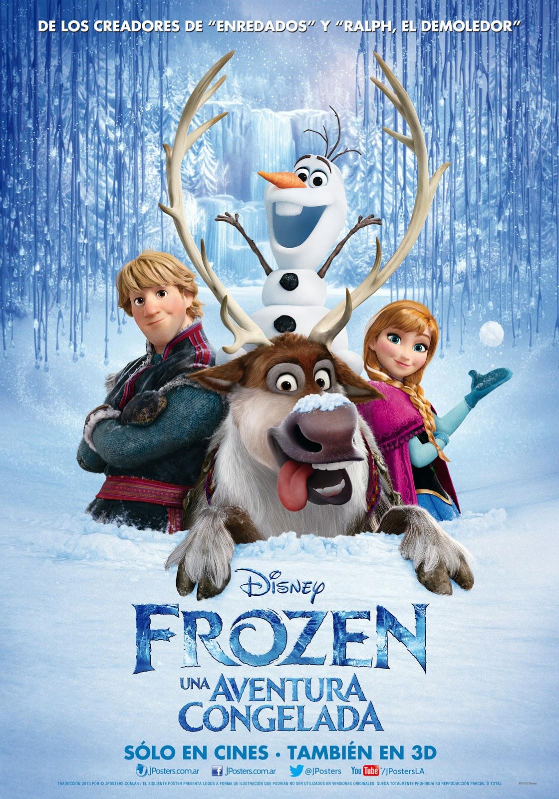 Frozen Latin American Poster - Frozen Photo (36192955 ...