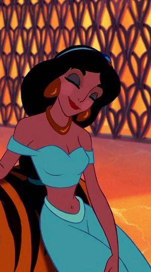 jasmine's perky look