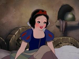 snow white's bright look