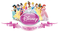 The 2D animated ディズニー Princesses