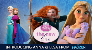 "The 3D animated ""New Era"" disney Princesses"
