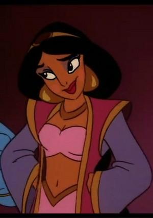 jasmine's Arabian Nights look