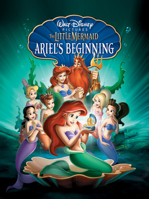 Is this the new cover for 'The Little Mermaid: Ariel's Beginning'?