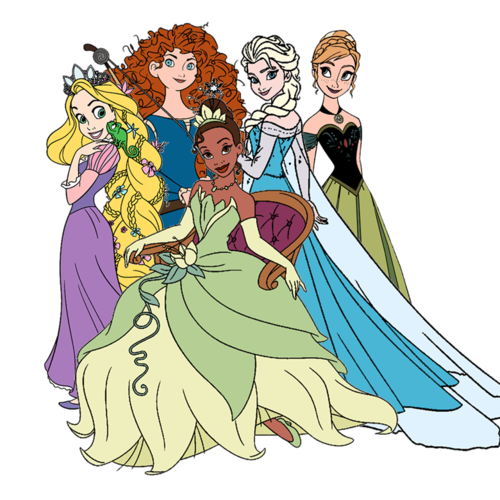 The modern princesses wallpaper and background images in the disney