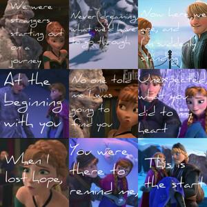 Frozen- At the Beginning