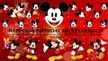 Happy 85th Birthday, Mickey Mouse!!! :D - disney wallpaper