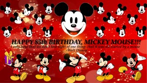 Happy 85th Birthday, Mickey Mouse!!! :D