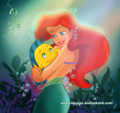 the little mermaid - disney fan art