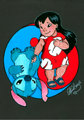 lilo and stitch - disney fan art