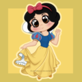 snow white - disney fan art