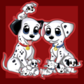 101 dalmations - disney fan art