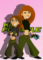 kim possible - disney fan art
