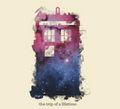 우주 and time TARDIS