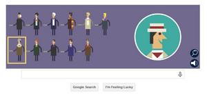 谷歌 - 50th Anniversary of Doctor Who