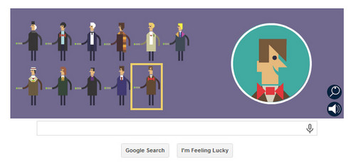 Doctor Who wallpaper called Google - 50th Anniversary of Doctor Who