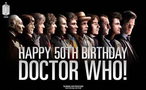 Happy 50th birthday Doctor Who!