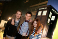 Matt, Karen and Arthur - doctor-who photo