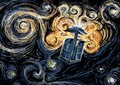 busje, van Gogh TARDIS
