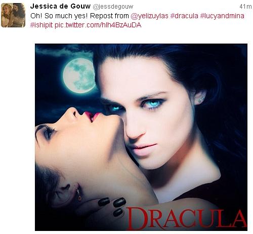 Dracula NBC fondo de pantalla called Lucy and Mina (Luna)