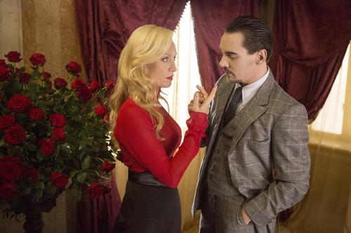 Dracula NBC kertas dinding containing a business suit entitled Lady Jane and Dracula