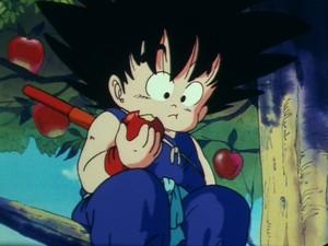 Goku's Eating