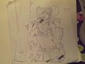 lolipop chainsaw - drawing photo