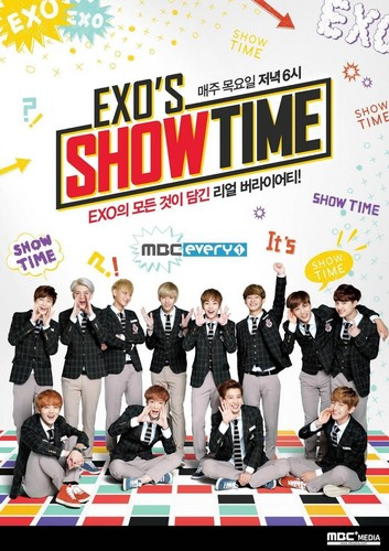 EXO wallpaper called EXO'S SHOWTIME Official Poster