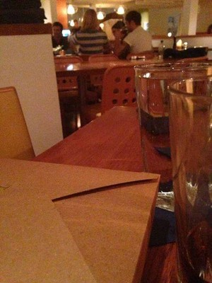 Ed @ a restaurant in New Buffalo