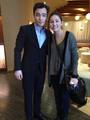 Ed Westwick with fan - 24 novembre 2013 - ed-westwick photo