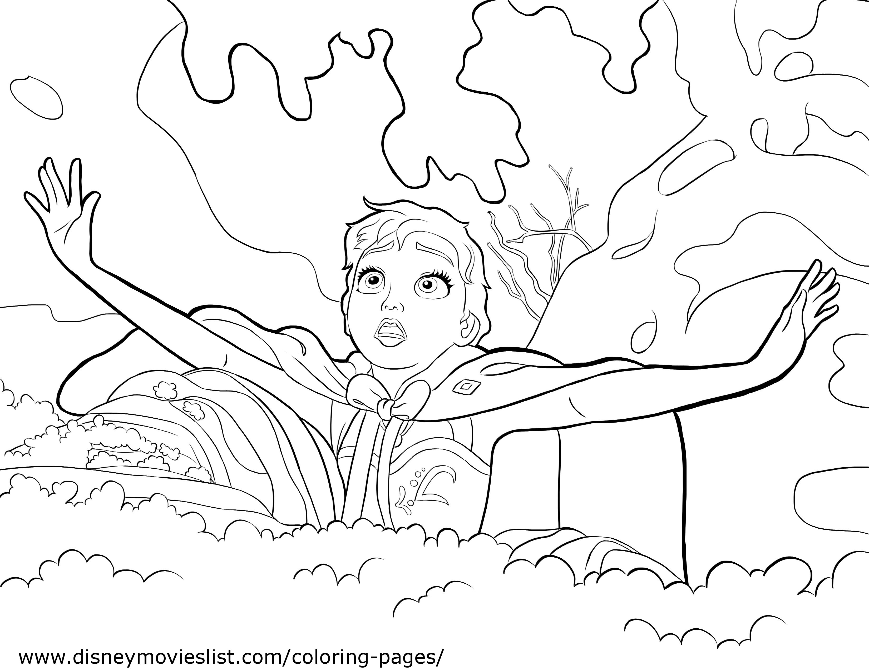 Elsa And Anna Images Coloring Page HD Wallpaper Background Photos