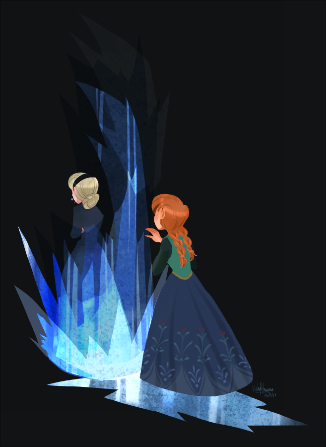 Elsa and Anna - Elsa and Anna Fan Art (36166749) - Fanpop