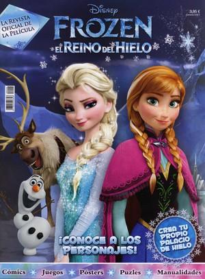 Frozen Spanish Magazine Back Cover