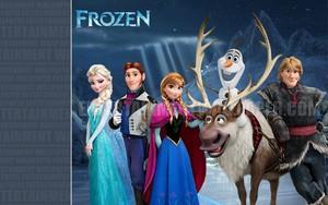 Frozen Hintergrund